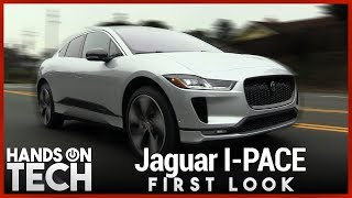 2019 Jaguar I-PACE First Look - Tesla Model X Competitor?