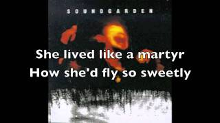 Soundgarden- Like Suicide w/ lyrics (HD)