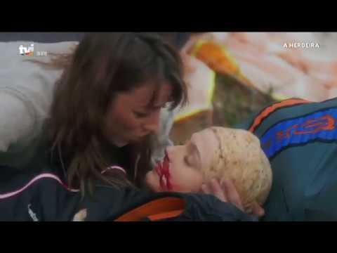 Joana morre num acidente de parapente