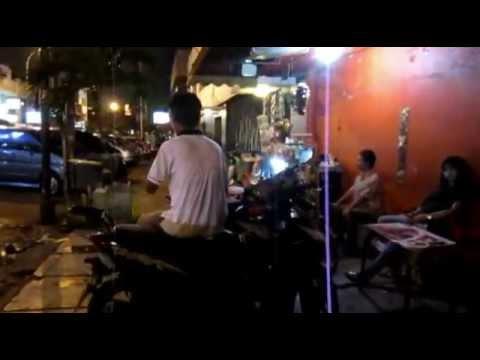 Faletehan Street Night Walk, Blok M, Jakarta