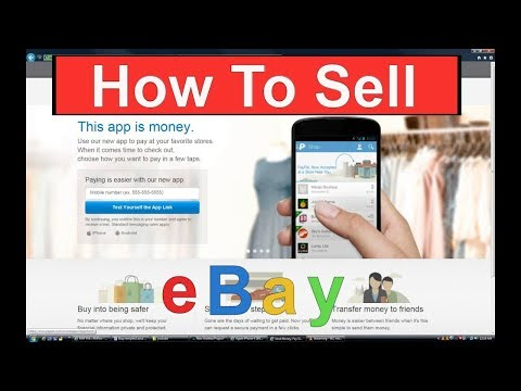 How To Sell On eBay Step By Step Instructions - Selling on eBay Auction
