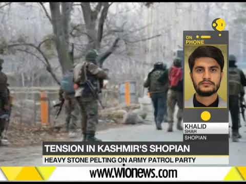 Tension in Kashmir's Shopian