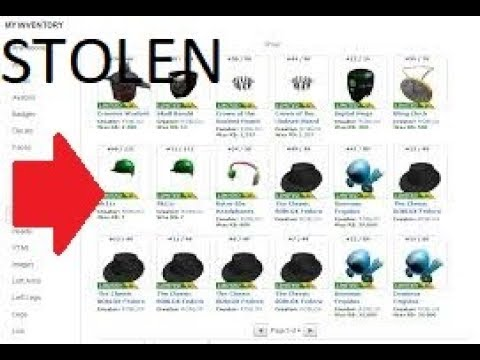 2018 How To Steal Any Ones Items Roblox Youtube