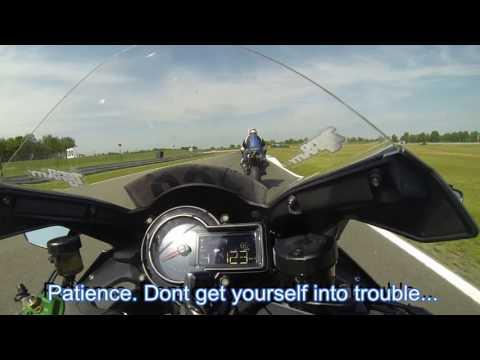 Trackday session with derestricted Kawasaki Ninja H2