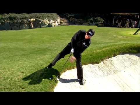 Phil Mickelson's Famous Backward Shot