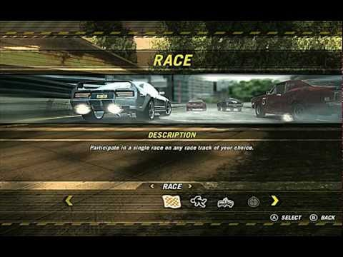 My first gameplay with Fraps ( game - Flatout : Ultimate Carnage PC )  