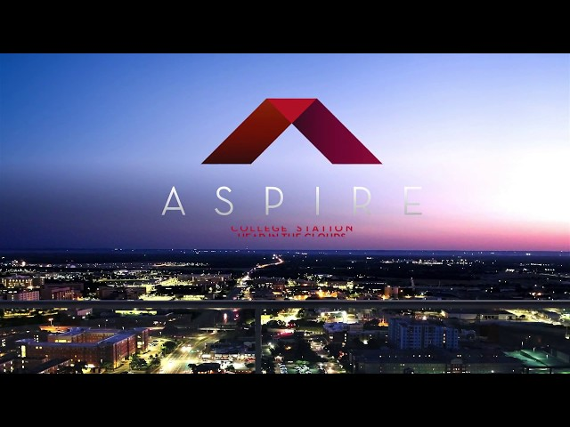 Aspire College Station video tour cover