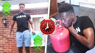 Inhaling a Full Tank of Helium EXPERIMENT !!! - What Happens in 24hrs?! (Extremely Risky)