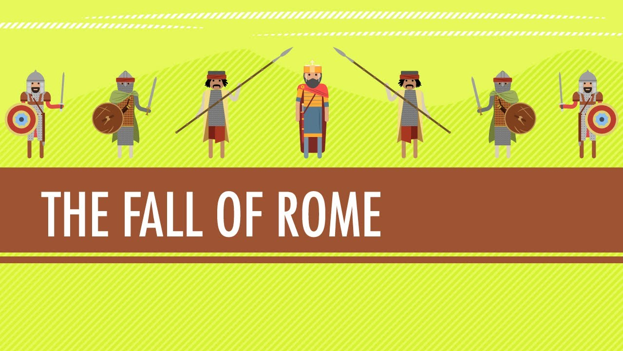 hight resolution of Fall of The Roman Empire...in the 15th Century: Crash Course World History  #12 - YouTube