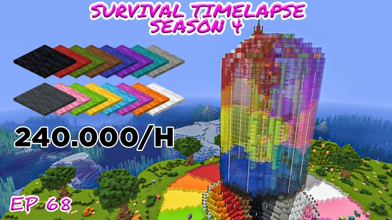 Download Huge Carpet Duper   Minecraft Survival Timelapse Season 4 Episode 68