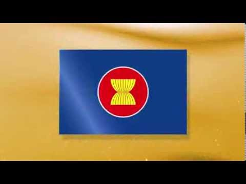 สัญลักษณ์ธงอาเซียนและธงประเทศสมาชิก