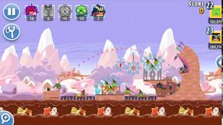 Angry Birds Friends 1st Jan 2018 Level 1 SANTACOAL & CANDYCLAUS TOURNAMENT.