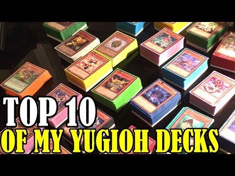 TOP 10: OF MY PAST YUGIOH DECKS!