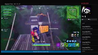 I'm a bot streaming Fortnite!
