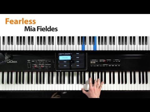 Fearless - Mia Fieldes - Keyboard Tutorial