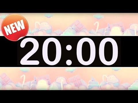 20 Minute Timer With Pop Music For Kids! Fun Timer For Classrooms, School, Home, Studying!