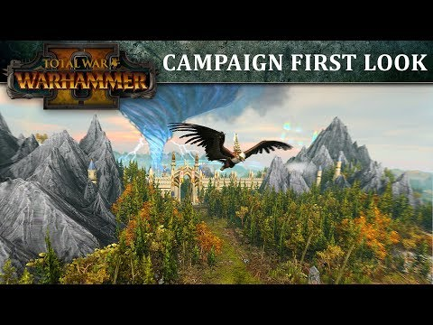 Total War: WARHAMMER 2 - First Look Campaign Map