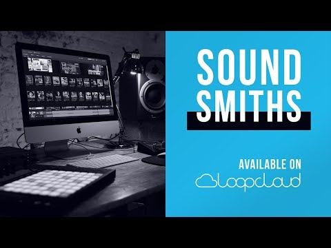 Soundsmiths is now on Loopcloud | Pop, Trap, Drum & Bass Loops, Sounds, Samples