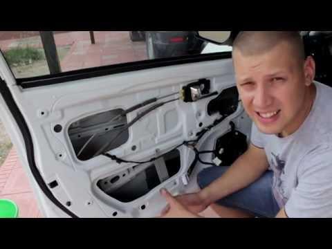 Шумоизоляция передней двери KIA RIO - Смешные видео приколы