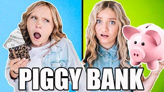 WE SPEND EACH OTHER'S PIGGY BANKS *unfair* challenge!! | GIVEAWAY!!