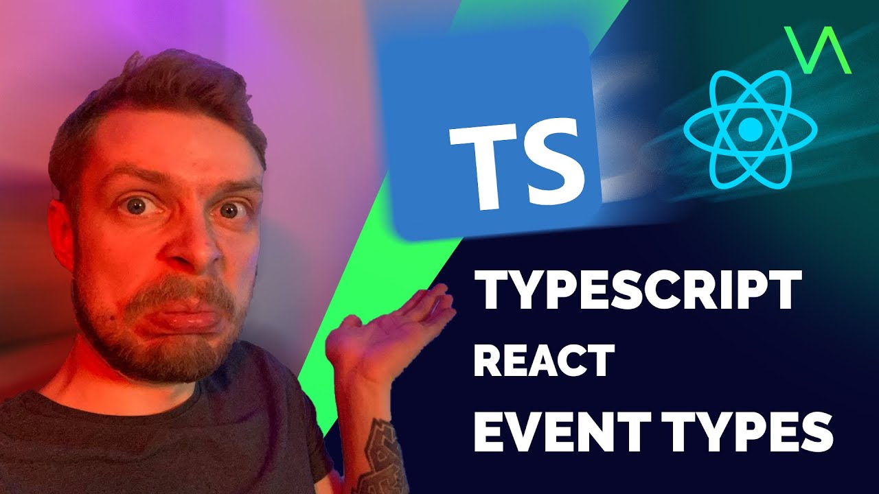 How to Type React Events with TypeScript