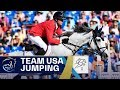 USA's Gold Ride in Team Jumping | FEI World Equestrian Games 2018