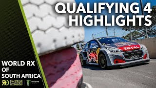 Qualifying 4 Highlights | 2018 Gumtree World Rallycross of South Africa