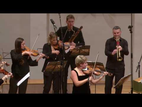 Telemann - Concerto for trumpet, violin, cello, strings & b.c. TWV 53:D5  in D - CroBaroque