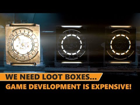 We Need Loot Boxes & Micro-Transactions Because Games Development is Too Expensive