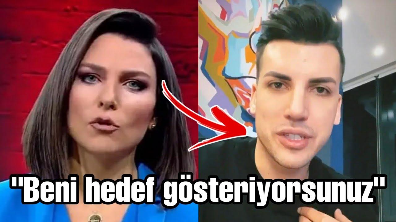 Kerimcan Durmaz Show TV ana haber spikeri Ece Üner'e şok sözler