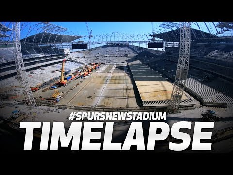 NEW STADIUM TIMELAPSE | MAY 2018