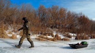 Зимняя рыбалка на реке Как найти рыбу в глухозимье
