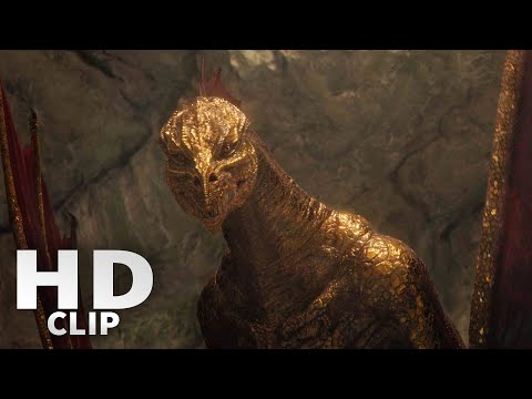 Meeting The Golden Dragon - The Witcher Netflix Scene (Clip)