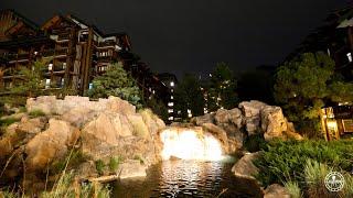 Disney's Wilderness Lodge 2021 Tour at Night - Filmed in 4K | Magic Kingdom Resort Walt Disney World