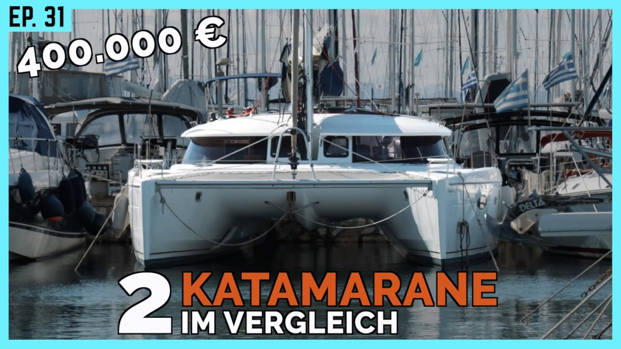 Ein Katamaran Für Die Weltumsegelung Der Kompromiss Aus Platz Und Segelleistung Bootsprofis 31 Youtube