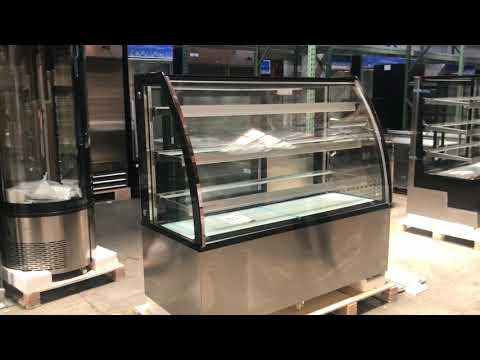 60 in SHOW BAKERY PASTRY DELI CASE REFRIGERATOR refrigerated RESTAURANT EQUIPMENT