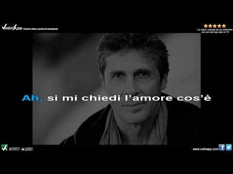Luca Barbarossa - Passame er sale (Karaoke HQ)