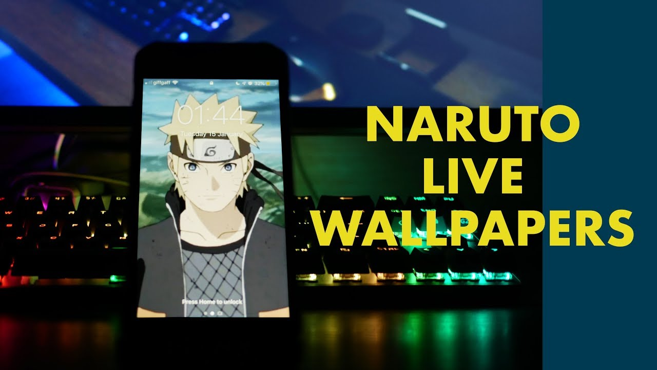 Naruto Live Wallpapers 2019 Iphone Android Gifs Youtube