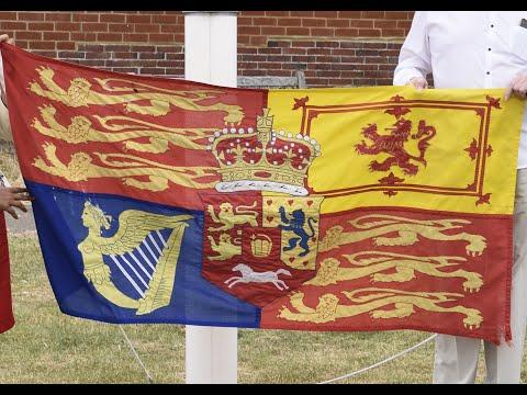 Raising the Royal Standard
