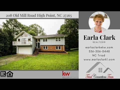 SOLD! 208 Old Mill Road High Point, NC 27265