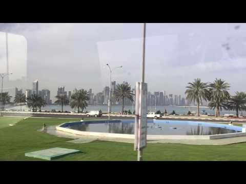 DOHA SKYLINE AMAZING VIEW WESTBAY AREA -2017 QATAR