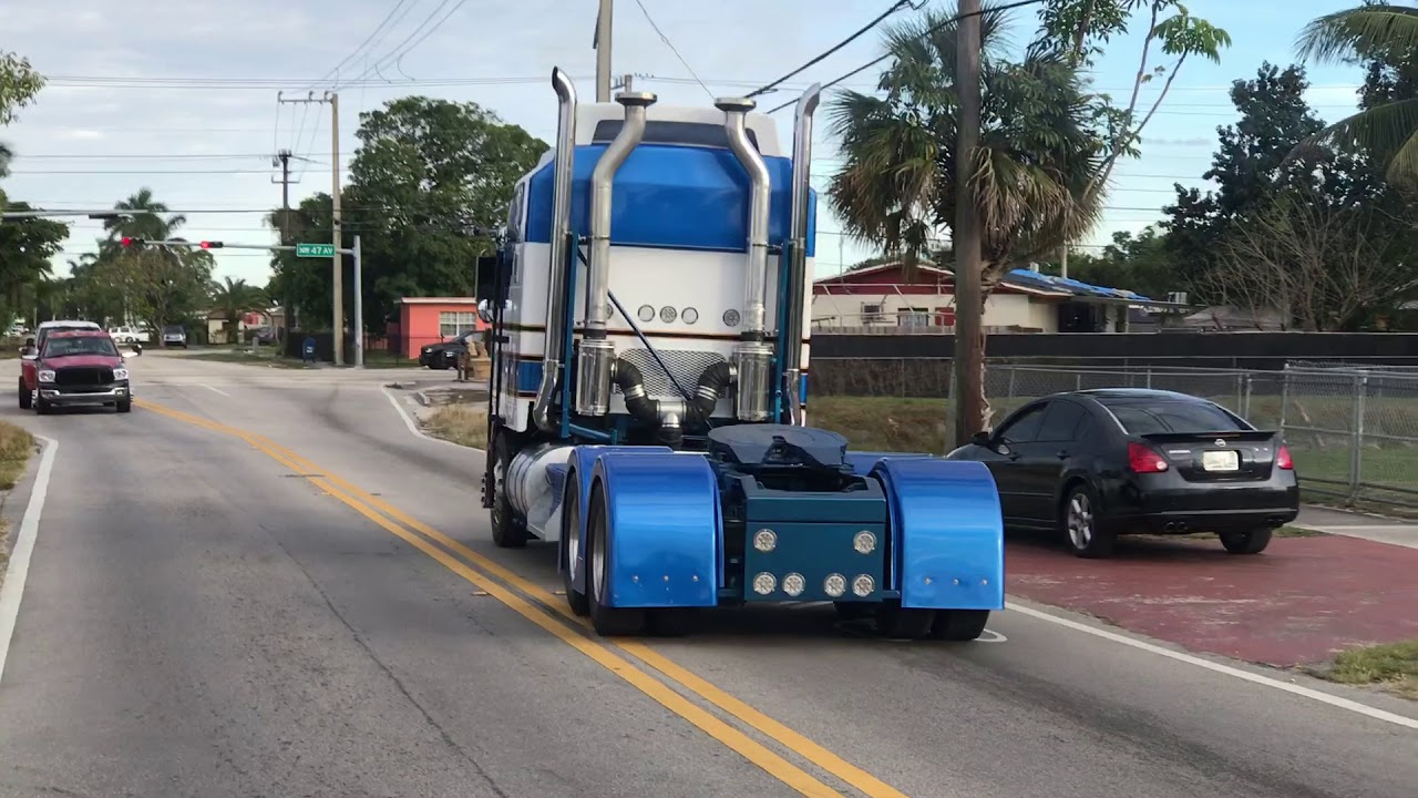 Kenworth K100 Restoration 15 Speed - Cab Over by Just Diesel