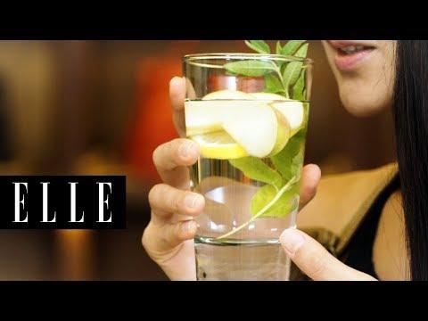 Hello速玲 X ELLE | 教你製作好喝又養顏美容的風味水果水