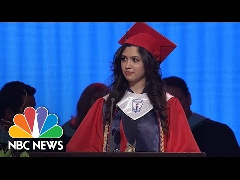 Valedictorian Tells Class She's Undocumented Immigrant | NBC News