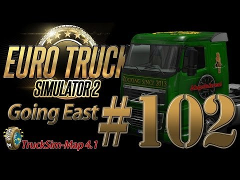 Euro Truck Simulator 2 Going East DLC [HD] ✪ Let's Play #102 |