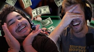Chance vs. Greek for $400 in Pool!