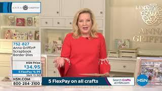 HSN | Anna Griffin Elegant Paper Crafting 04.13.2021 - 03 PM
