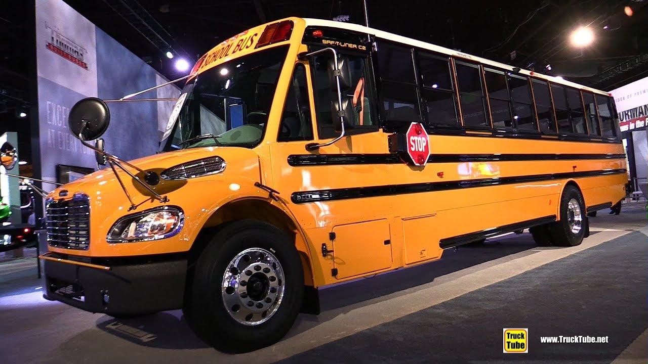 Thomas Built Buses >> 2018 Thomas Built School Bus - Walkaround - 2017 NACV Show ...