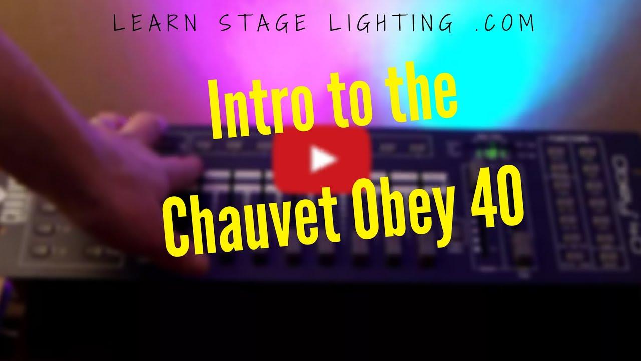 Chauvet obey 40 инструкция на русском master