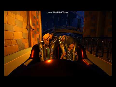Comic Book Land Planet Coaster Part 1 Spiderman Rollercoaster